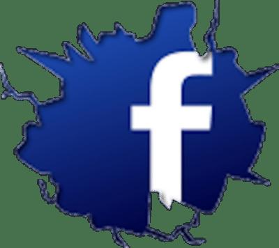 Cracked-Facebook-Logo-psd46992