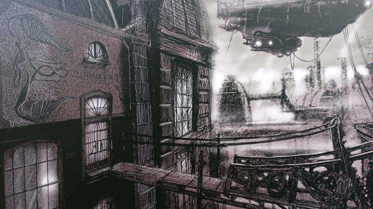 phantasialand flying coaster f r neue themenwelt rookburgh. Black Bedroom Furniture Sets. Home Design Ideas