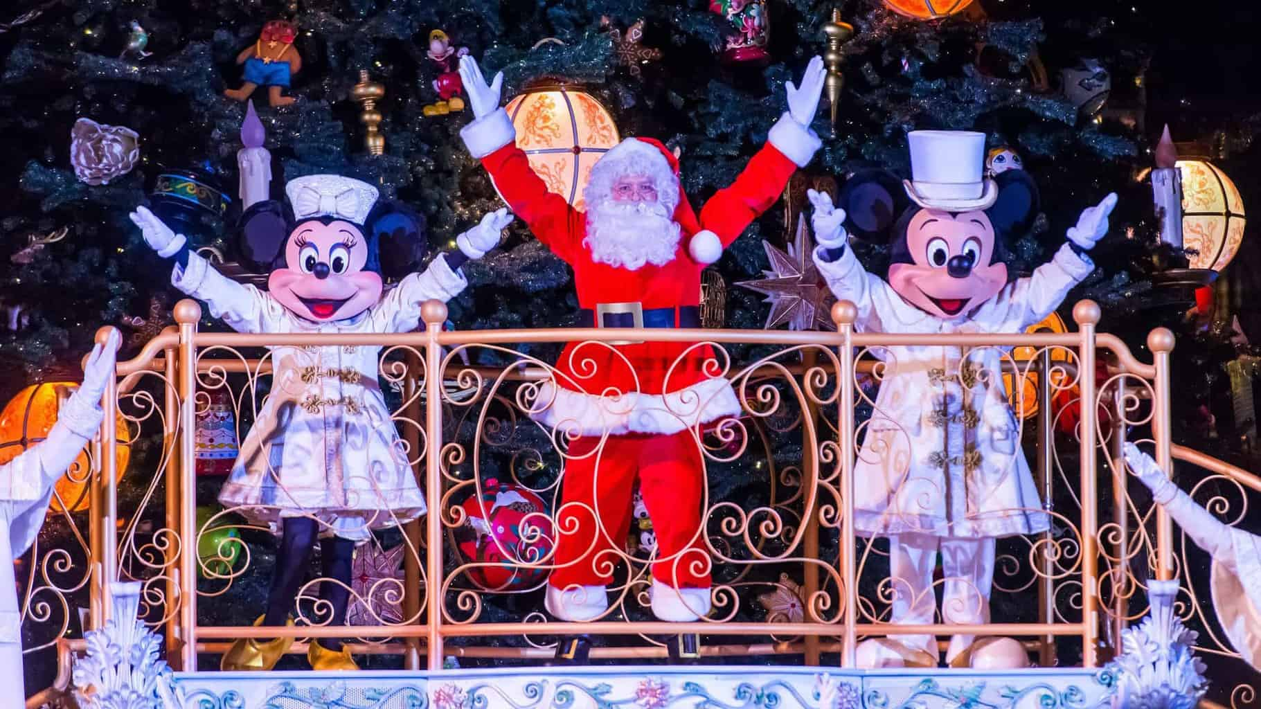 zauberhafte weihnachten in disneyland paris. Black Bedroom Furniture Sets. Home Design Ideas