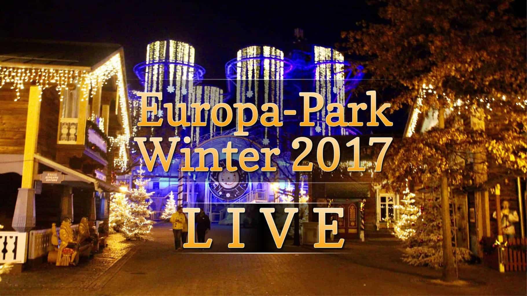 europa park winter 2017 live auf youtube. Black Bedroom Furniture Sets. Home Design Ideas