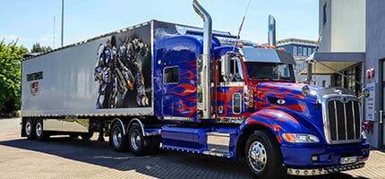 Optimus Prime Lkw