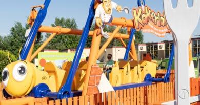 Neuer Spieleklassiker in XXL: Die Kakerlake zieht ins Ravensburger Spieleland ein